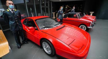 Al Mauto di Torino esposizione di auto sequestrate dalla GdF. Ferrari, Porsche, Lamborghini arricchiscono la collezione del Museo