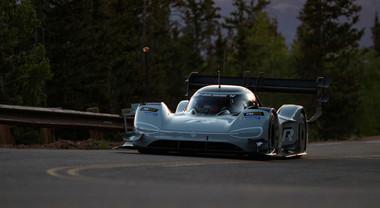 Volkswagen I.D. R Pikes Peak ottiene il miglior tempo nelle qualifiche