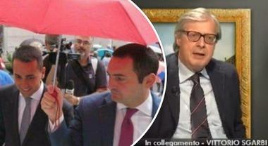 """""""Luigi Di Maio è gay. Fidanzato con un 5 Stelle"""": Sgarbi choc, ma lo disse anche Grillo"""