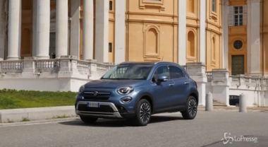 Fiat, la prova su strada della nuova 500X