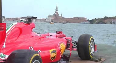 Ferrari F1 protagonista a Venezia