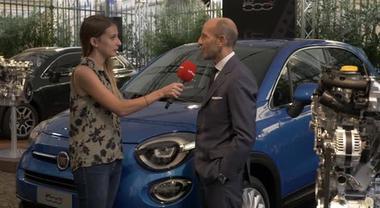 Intervista a Luca Napoletano responsabile Emea sulla nuova Fiat 500X