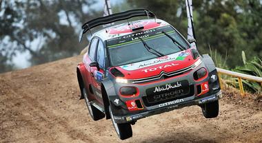 Citroen ambisce al podio nel rally d'Italia. Breen e Ostberg daranno battaglia sugli sterrati sardi