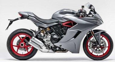Ducati SuperSport, sportiva stradale versatile da luglio nell'inedita colorazione grigio opaco