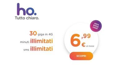 ho. il nuovo operatore low-cost di Vodafone. La tariffa choc: 6,99 euro al mese tutto incluso