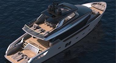 Sanlorenzo amplia la linea di yacht-crossover SX con Volvo Penta. A Cannes il nuovo 76