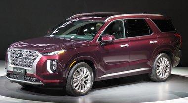 Hyundai, con Palisade entra nel segmento dei grandi Suv. Modello premium a 8 posti presentato a Los Angeles