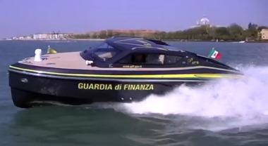 Guardia di Finanza, arriva la prima motovedetta elettrica