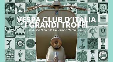 """Vespa, una mostra con i trofei della """"mitica"""" per celebrare i 70 anni del primo Vespa Club Italia"""