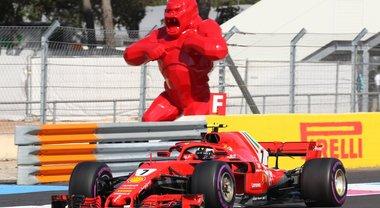 F1, le spettacolari immagini del GP di Francia