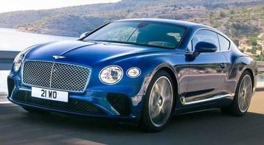Bentley Continental GT, la granturismo tutta lusso e sportività