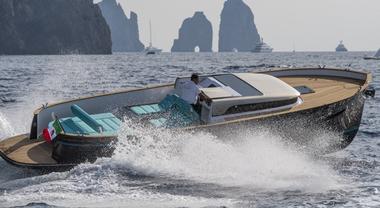 Apreamare, svelata a Capri la nuova barca: un Gozzo innovativo alla conquista del mondo