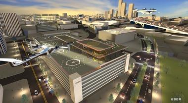UberAir, presentati i primi sei progetti degli Skyport per i taxi volanti