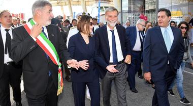 Nautica, Delrio apre il Salone di Genova: «Il design italiano ha un fascino unico»