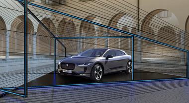 "La I-Pace protagonista alla Milan design Week con ""Jaguar Electrifies: Future Perspective"""