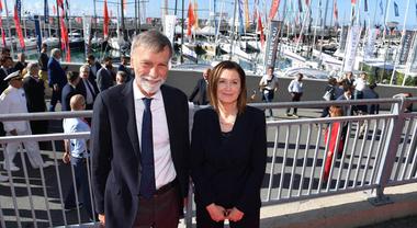 Genova, Delrio: «Questo Salone e la nautica italiana hanno numeri impressionanti»