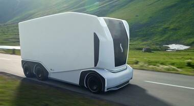 Einride Pod, camion elettrico autonomo rivoluziona trasporti. Cambia la figura dell'autista, che opererà da remoto via web