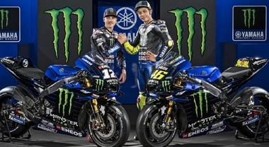 Yamaha, svelata nuova MotoGP per il mondiale 2020, l'ultima di Valentino ufficiale