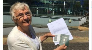 Negata la cittadinanza all'ex sindaca: «Viveva in Inghilterra da 39 anni»