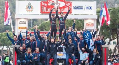 Wrc, le immagini più belle del rally di Monte Carlo
