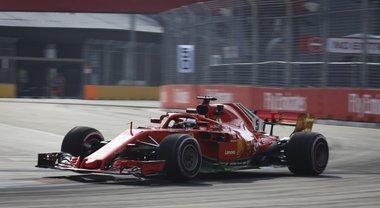 Formula 1, le spettacolari immagini del GP di Singapore
