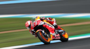 Thailandia, pole di Marquez davanti a Rossi. Lo spagnolo: «Mi sento forte ma c'è da lavorare»