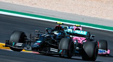 Portimao, 3° turno libero: Bottas tiene a bada Hamilton, Gasly magico quarto, Leclerc sesto