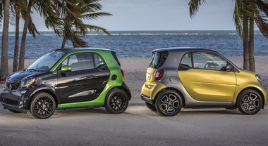 Smart in the city, sulle strade di Miami al volante della nuova versione elettrica