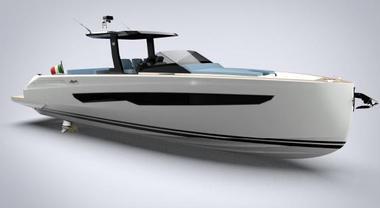 Fiart Mare festeggia i 60 anni con il Seawalker 43, express cruiser veloce con 2 cabine e 4 posti letto