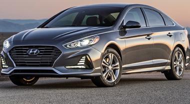 Hyundai Sonata, svelato il restyling della 7^ generazione al Salone di New York