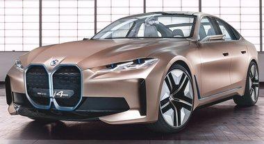 BMW, ecologia sportiva. Il concept i4 rappresenta il manifesto del marchio: esclusività, piacere di guida, autonomia