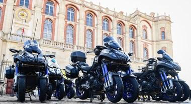 Yamaha Niken protagonista nel ciclismo: sarà moto ufficiale di Giro, Tour e Vuelta fino al 2021