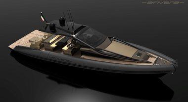 Anvera 48, al Versilia Yachting Rendez-vous il nuovo battello pneumatico hi-tech ad alte prestazioni