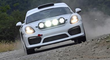 Porsche, una Cayman GT4 esordirà nel Rally di Germania con Romain Dumas