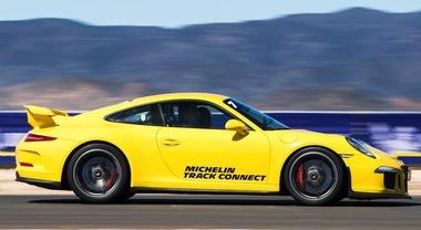 Michelin, lo pneumatico che dialoga scende in pista