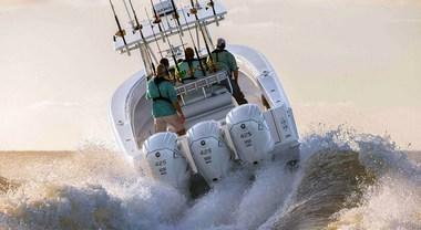 Yamaha Marine incanta Genova con il V8 XTO Offshore. Con 425 hp è il fuoribordo più potente al mondo