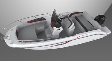 Salpa torna al vecchio amore con SunSix, barchetta di 6 metri in vtr proposta in package con Yamaha per puntare anche al noleggio
