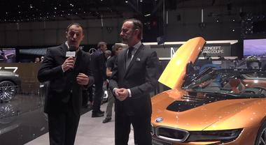 Le novità BMW a Ginevra 2018 illustrate dall'ad Sergio Solero