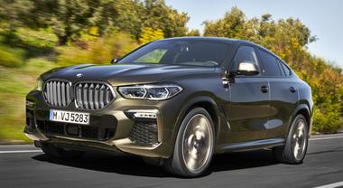 BMW X6, la signora in lungo: crescono misure e sportività