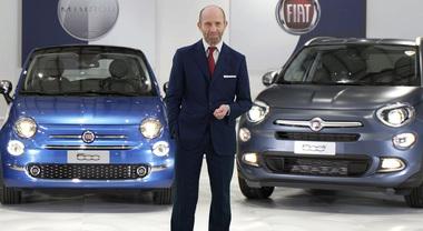 Fiat, Napolitano: «Con l'ipertecnologica Mirror la famiglia 500 sempre un passo avanti»