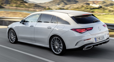 Mercedes CLA Shooting Brake: ecco la berlina-coupé 5 porte, in futuro anche ibrida