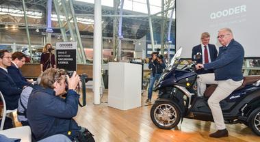 Qooder fa proseliti, uno scooter realizzato ad hoc per il Principe del Belgio