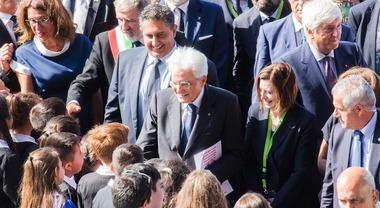 La prima volta di un capo dello Stato al Nautico: Mattarella in visita al Salone di Genova