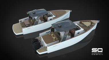 Heron Yacht avanti tutta: dopo il 56 ecco il progetto del 38. Sarà day cruiser o WA, con motori entro o fuoribordo