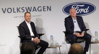 Ford e Volkswagen si alleano su auto elettriche e guida autonoma