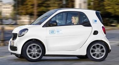 Car2go sbarca a Parigi dal 2019 solo solo con Smart elettriche