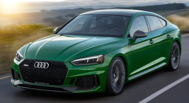 Audi svela la RS 5 Sportback da 450 cv. Debutto a New York per inedita coupé 5 posti ad alte prestazioni