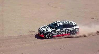 Audi e-tron, la regina del deserto (1)