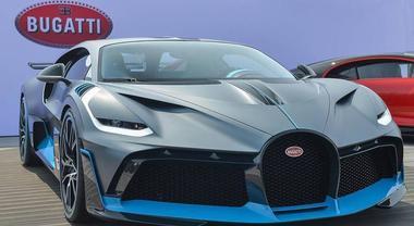 Bugatti Divo, passerella a Pebble Beach per l'hypercar da 5 milioni. Sarà costruita soltanto in 40 esemplari