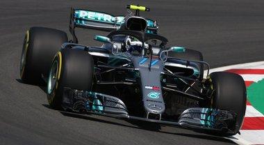 Gp Spagna, Bottas il più veloce nelle prime libere davanti a Hamilton e la Ferrari di Vettel
